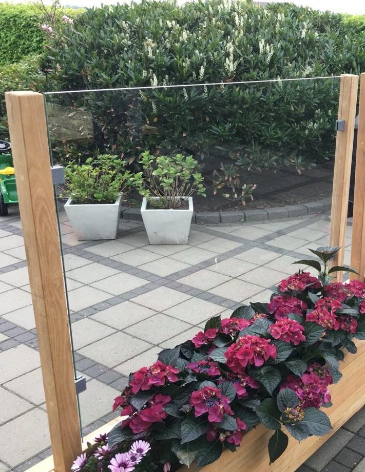 l hegn af plexiglas 6mm til plantekasse hjalmar bolighaveshop. Black Bedroom Furniture Sets. Home Design Ideas